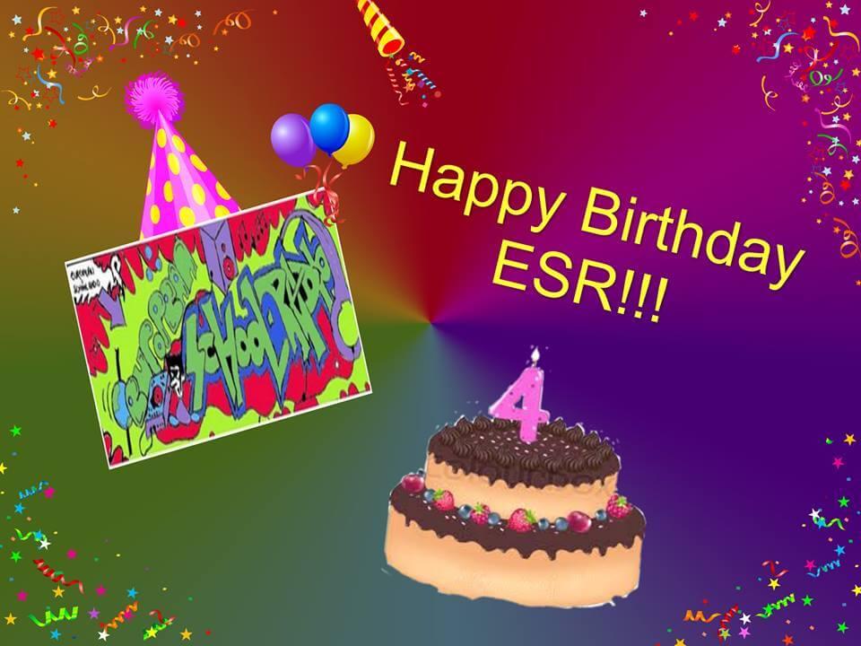 Γιορτάζουμε όλοι μαζί τα γενέθλια του ESR στις 19 Δεκεμβρίου!