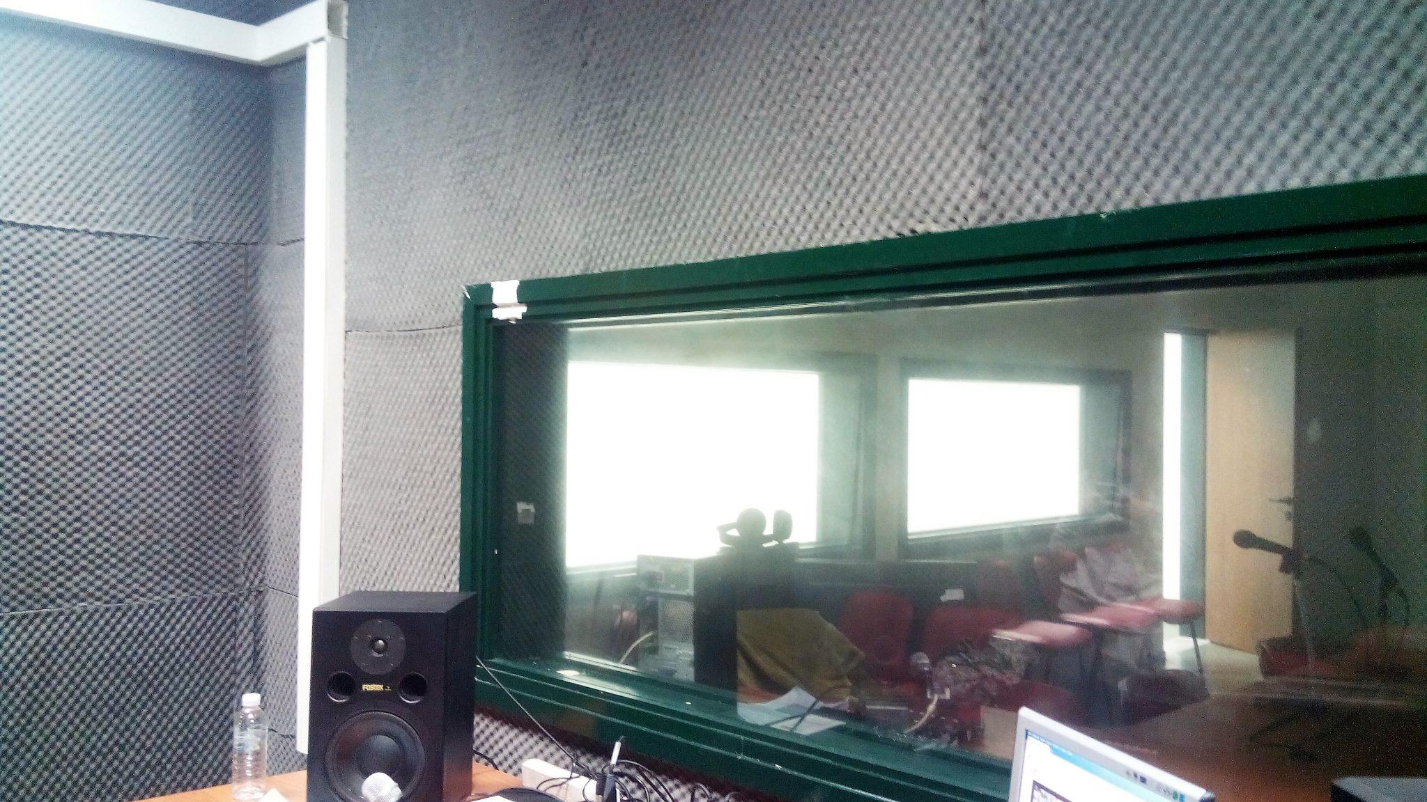 Ακουστική χώρου ηχογράφησης- μετάδοσης