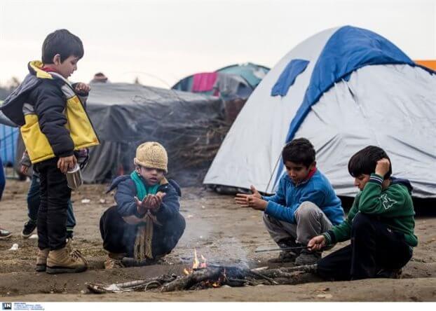 """Παρασκευή 11/3, 11:00 – """"Οι Πρόσφυγες στην Ειδομένη"""", Ζωντανή Εκπομπή"""