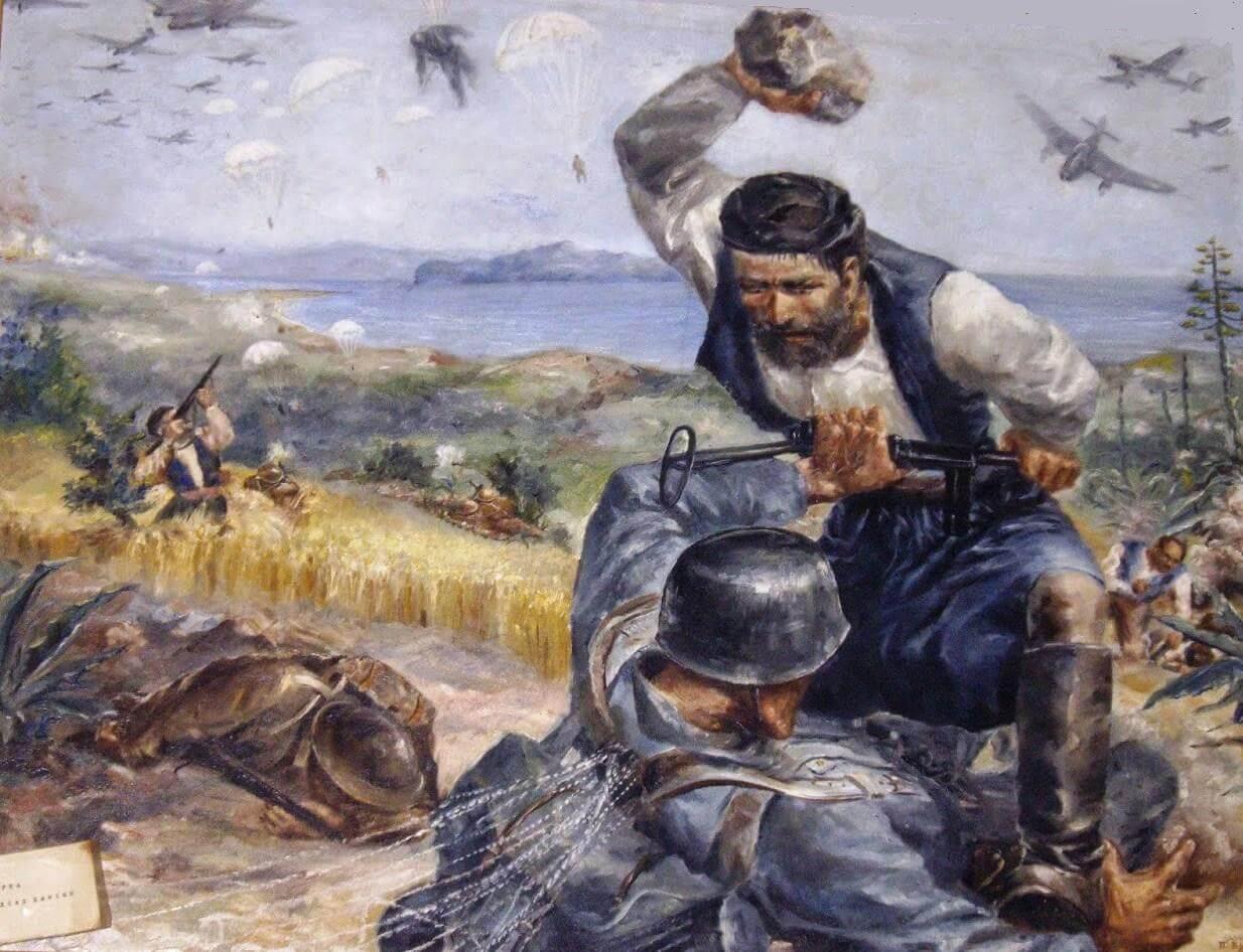 Έκτακτη εκπομπή για την Μάχη της Κρήτης , Τετάρτη 25 Μαϊου στις 6.οομ.μ από το 10οΔ.Σ.Χανίων.