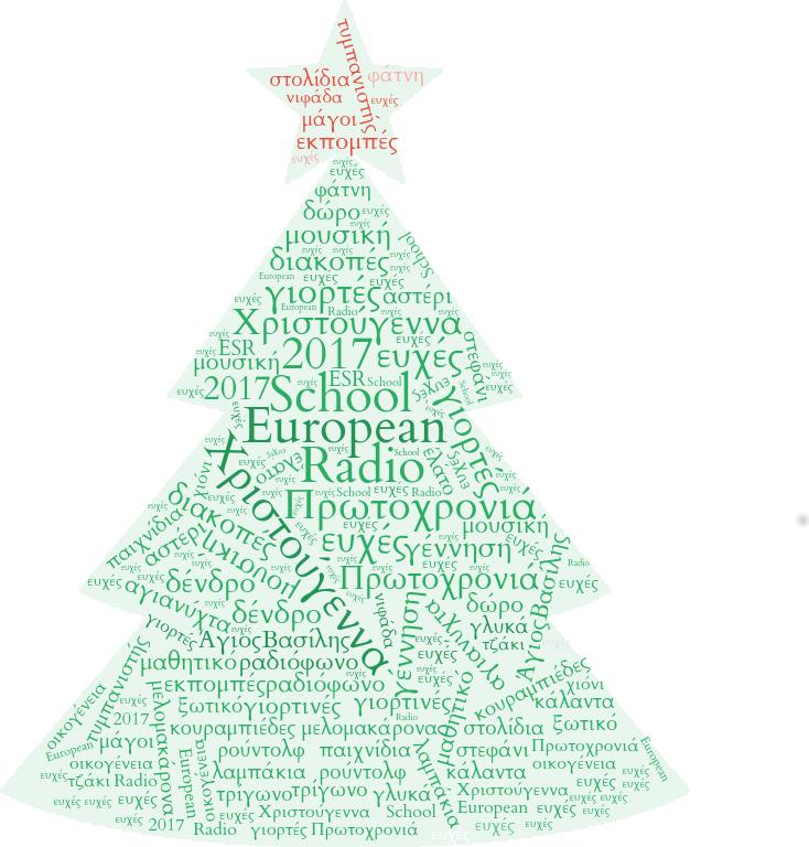 Ας στολίσουμε το δέντρο του ESR με τις γιορτινές ευχές σας !