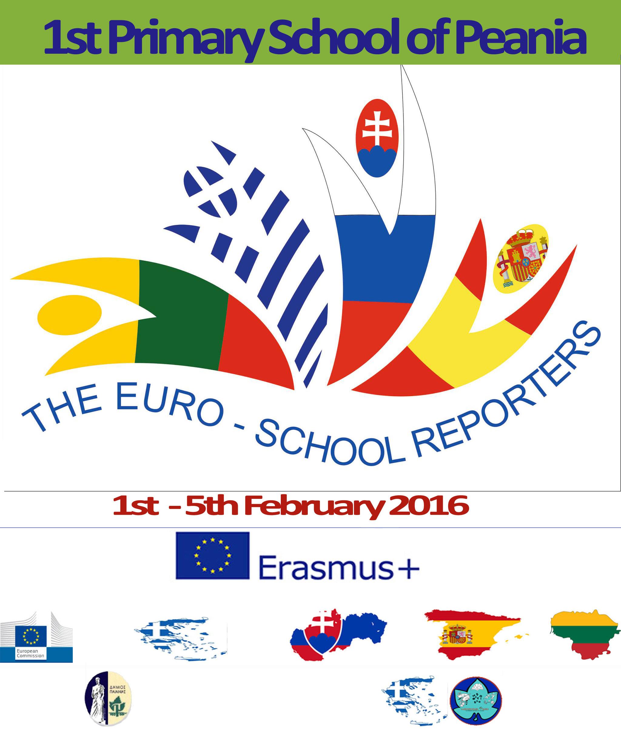 "ERASMUS+ PROJECT: "" The euro-school reporters"""