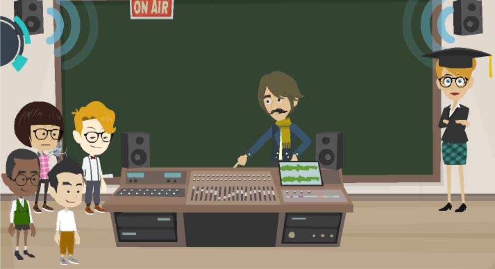 Προετοιμάζοντας μια ραδιοφωνική εκπομπή